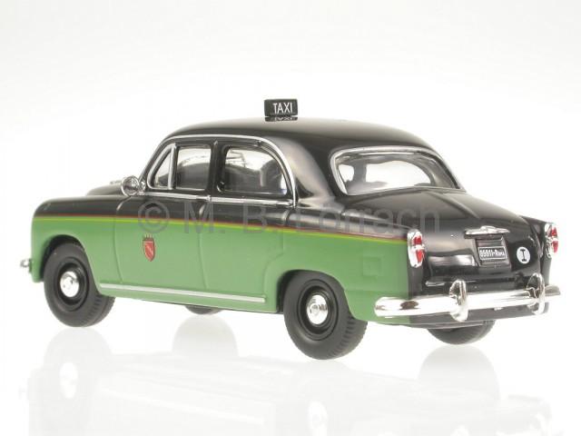 Fiat 1400 Taxi Rom 1955 Modellauto IXO 1:43