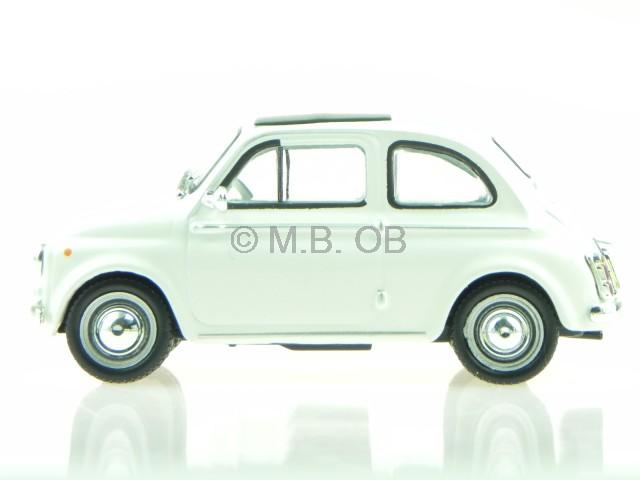 fiat 500 ta creme weiss modellauto atlas 1 43 ebay. Black Bedroom Furniture Sets. Home Design Ideas