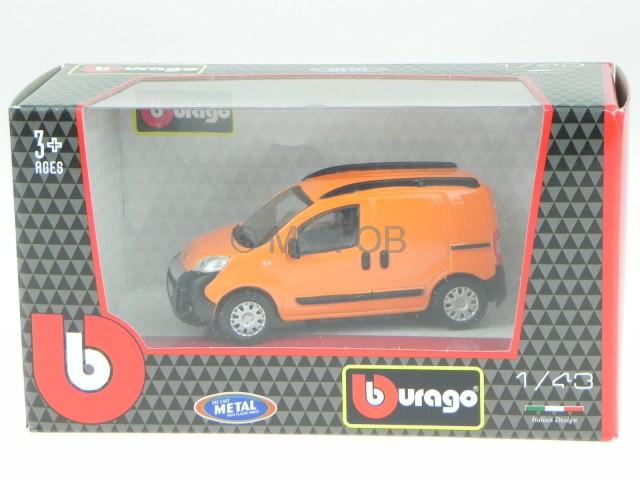 fiat fiorino kasten orange modellauto 30311 bburago 1 43. Black Bedroom Furniture Sets. Home Design Ideas