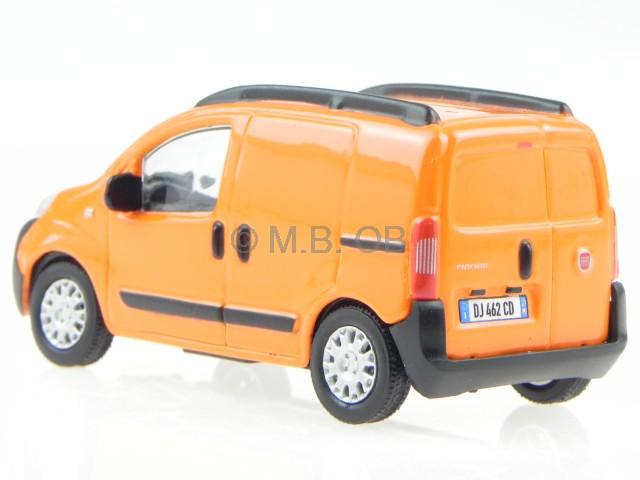 Burago Orange - Diecast Model Scale 1:43 FIAT FIORINO VAN
