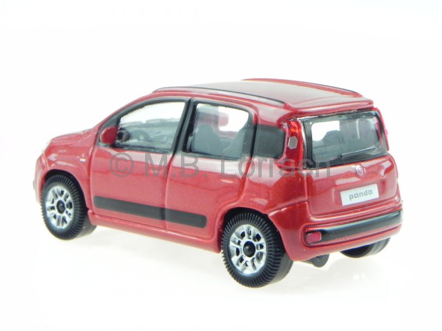 fiat nuova panda 2012 rot modellauto 30273 bburago 1 43 ebay. Black Bedroom Furniture Sets. Home Design Ideas