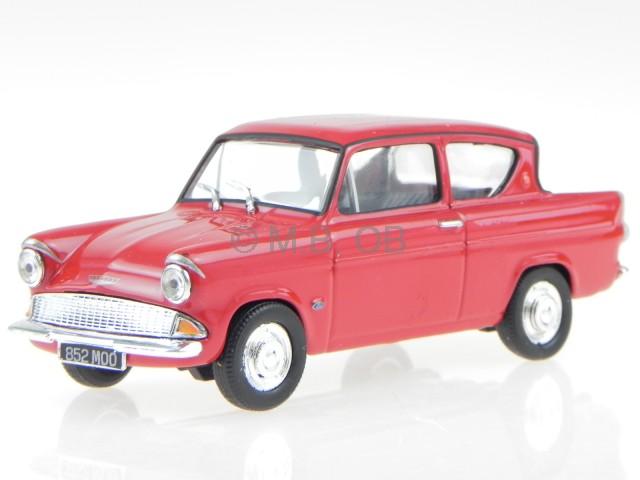 Ford Angila Rot Modellauto In Vitrine Cararama 1 43 Ebay