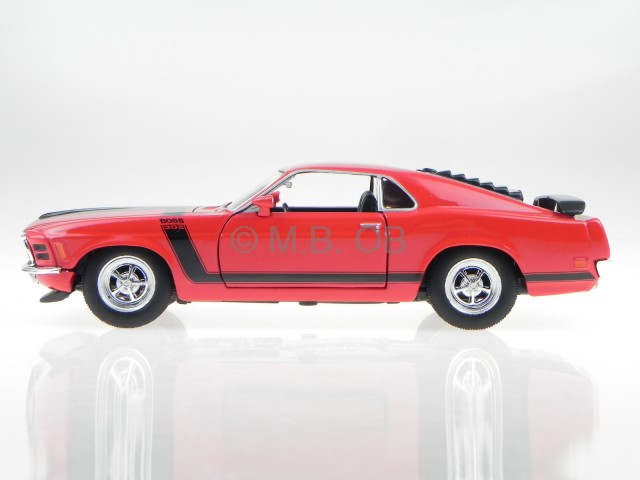 22088R FORD MUSTANG BOSS 302-1970 WELLY 1//24