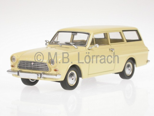Ford Taunus 12M  Kombi 1962 creme Modellauto 400086111 Minichamps 1 43  | Erlesene Materialien