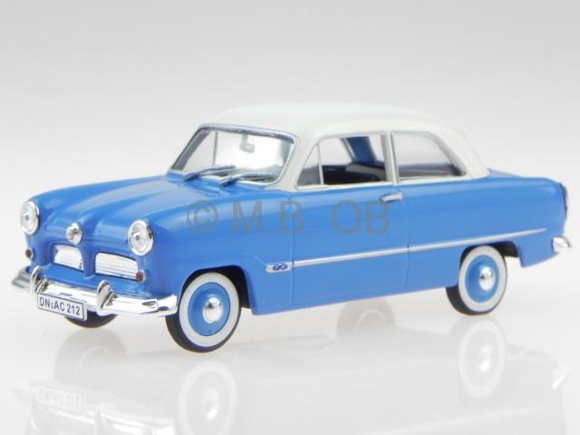 Ford Taunus 12M 12 M M M Weltkugel blau 1954 Modellauto 270534 Norev 1 43 2541ed