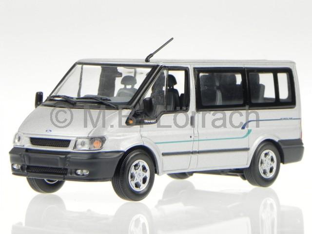 ford transit 2003 euroline silver diecast model car. Black Bedroom Furniture Sets. Home Design Ideas