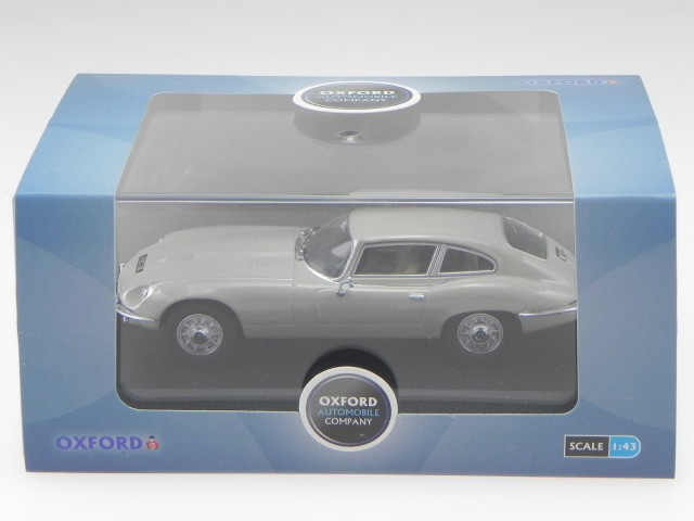 Jaguar E-Type V12 Coupe Ascot Reh 1:43 Oxford JAGV12005 Spielzeugautos