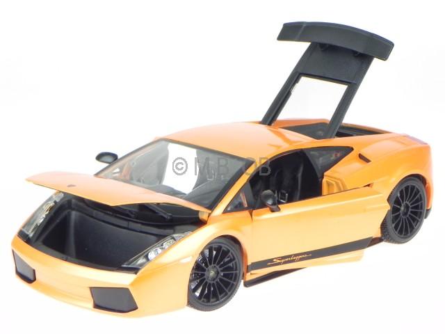 Lamborghini Gallardo Superleggera Orange véhicule miniature 31149 Maisto 1 18