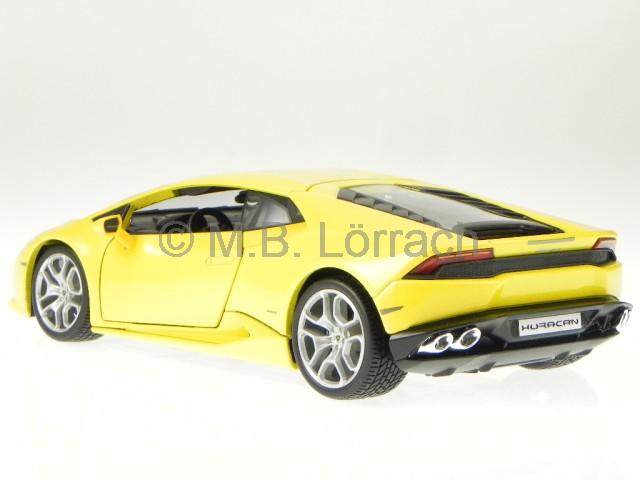 lamborghini huracan lp 610 4 gelb modellauto 11038 bburago. Black Bedroom Furniture Sets. Home Design Ideas