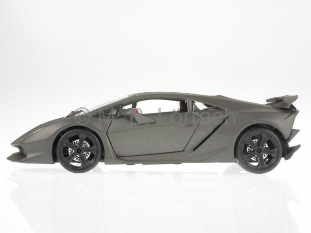 lamborghini sesto elemento grau matt modellauto 18 21061. Black Bedroom Furniture Sets. Home Design Ideas