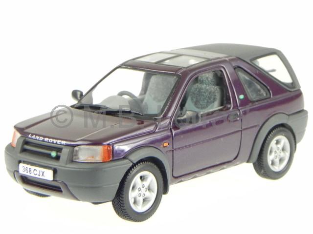 Land Rover Freelander 1998 Burgund Diecast Model Car Universal