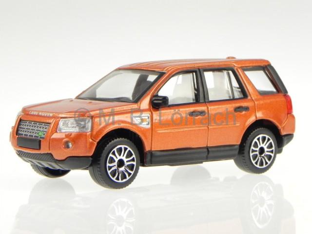 Land Rover Freelander 2 Orange Diecast Model Car Bburago 1 43 For
