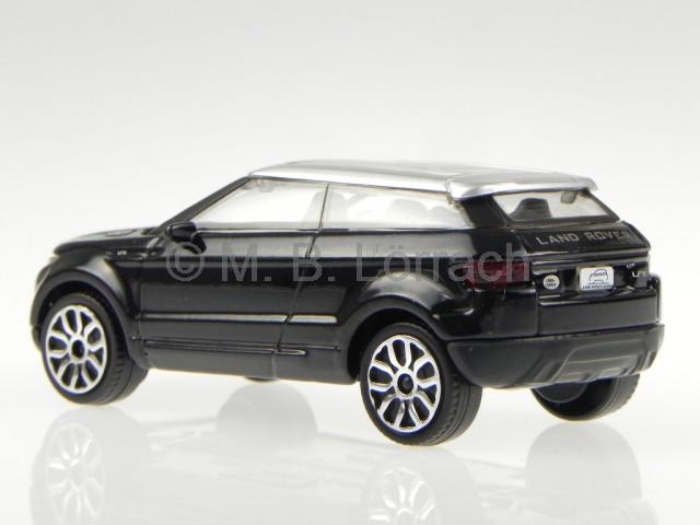 land rover lrx concept evoque black diecast model car. Black Bedroom Furniture Sets. Home Design Ideas