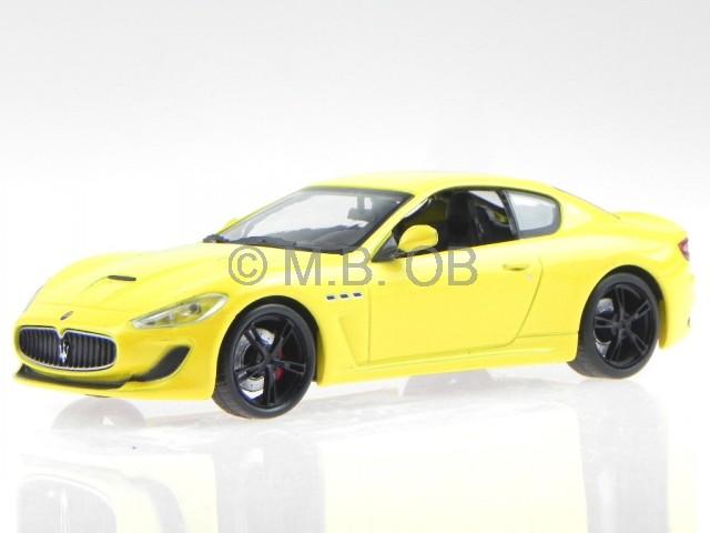 maserati granturismo mc stradale gelb modellauto 029. Black Bedroom Furniture Sets. Home Design Ideas