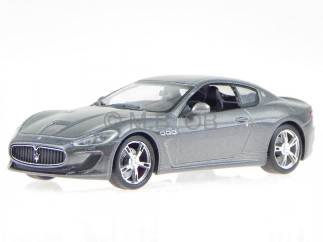 Maserati GranTurismo MC Stradale Coupe Blau Ab 2007 1//43 Whitebox Modell Auto ..