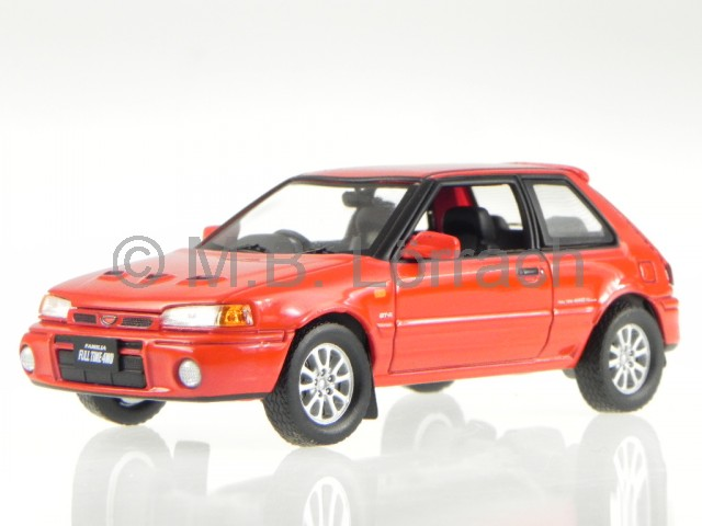 Citroen AX Gti 1991 rot Modellauto 1:43 ixo models