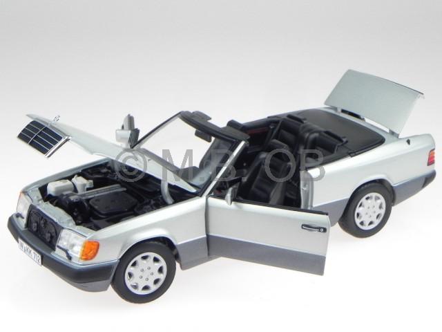 Mercedes A124 300 300 300 CE-24 Cabrio argent véhicule miniature 183565 Norev 1:18 | Boutique En Ligne  c8c203