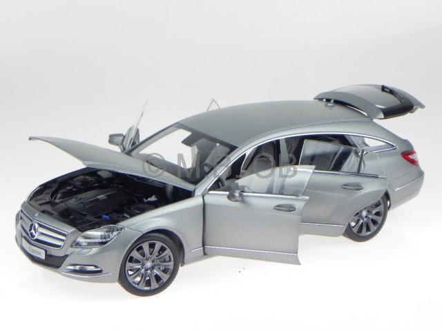 Mercedes X218 CLS Shooting Brake alanit grigio modellino Norev 1/18