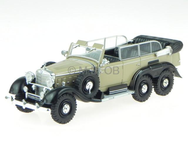 Mercedes G4 W31 1938 creme noir véhicule miniature WB158 blancbox 1 43