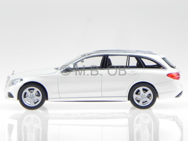 mercedes s205 c klasse t modell exclusive weiss modellauto. Black Bedroom Furniture Sets. Home Design Ideas