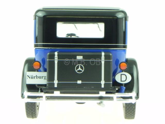 1:43 Premium Collectibles Mercedes 460 Nürburg blue NEW bei PREMIUM-MODELCARS