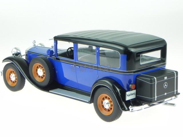 1:18 Model car group mercedes 460//460 K Nürburg 1928 darkred//Black