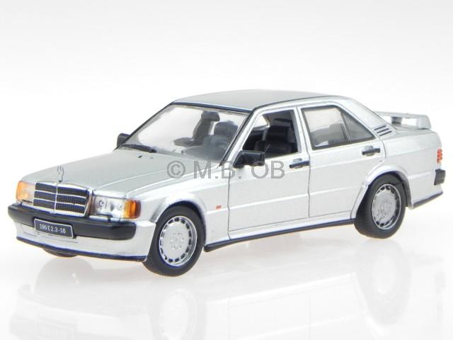 Mercedes-Benz 190E 2.3-16 schwarz metallic 1:43 diecast Norev