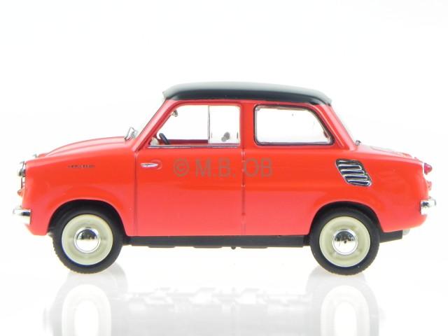 Mikrus MR-300 1958 rot Modellauto WB220 Whitebox 1:43
