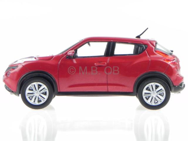 Nissan juke 2015 rot metallic modellauto prxd197 premiumx for Nissan juke schwarz rot