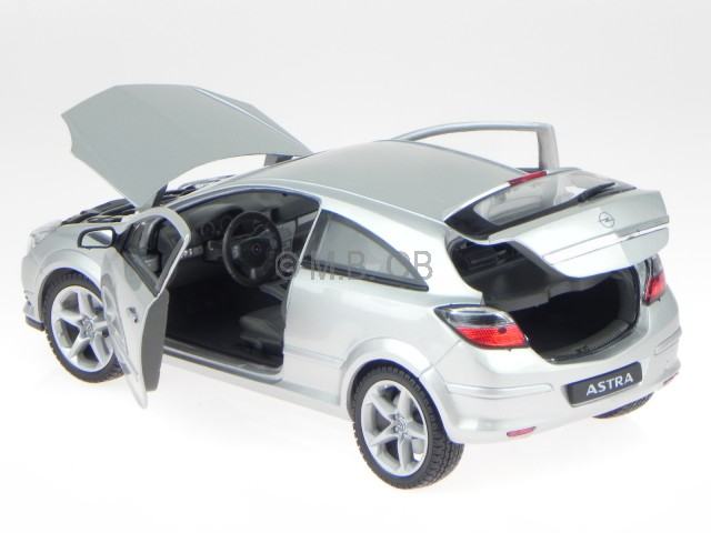 Opel Astra Gtc 2007 Coupe Silber Silver Ca 1//43 1//36-1//46 Welly Modellauto Model