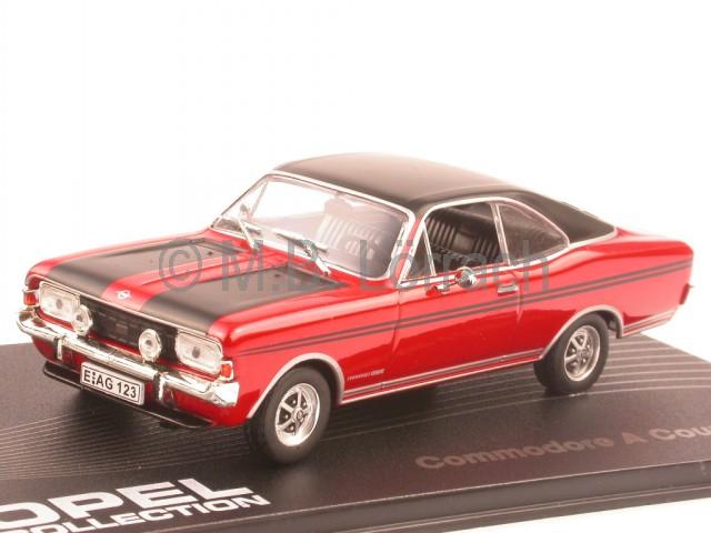 1:24 Whitebox  *NEW* Opel Commodore A Coupe GS//E 1970   rot