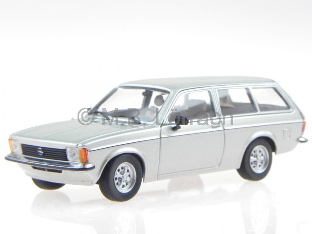 Opel Kadett C Caravan argent véhicule miniature 400048111 Minichamps 1 43