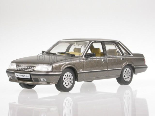 wonderful modelcar OPEL  SENATOR  A2 1982 scale 1//43 darkgrey metallic