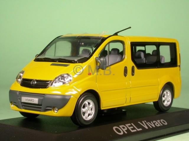 Opel Vivaro Kombi gelb Modellauto Minichamps 1 43  | Qualitätsprodukte