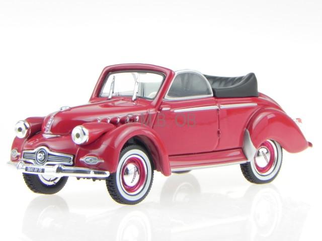 Panhard pl17 tigre 1961 1:43 atlas miniature diecast car