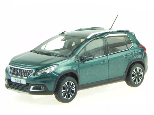 peugeot 2008 2016 emerald crystal blau modellauto 479845 norev 1 43 ebay. Black Bedroom Furniture Sets. Home Design Ideas