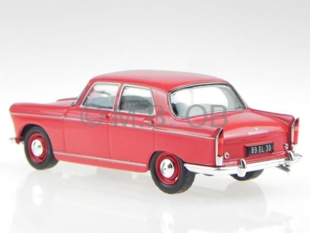 Peugeot 403 blau 1960 Blister 1:43 Salvat Ixo Modellauto
