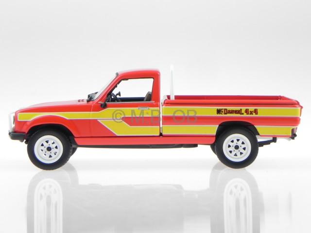 peugeot 504 pick up 4x4 dangel 85 red yellow modelcar475448 norev 1 43 ebay. Black Bedroom Furniture Sets. Home Design Ideas