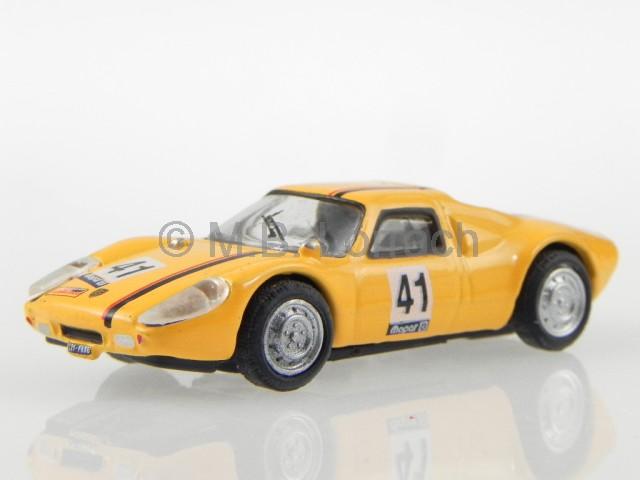 Porsche-904-GTS-No-41-giallo-modellino-C711ND-018-Cararama-1-72