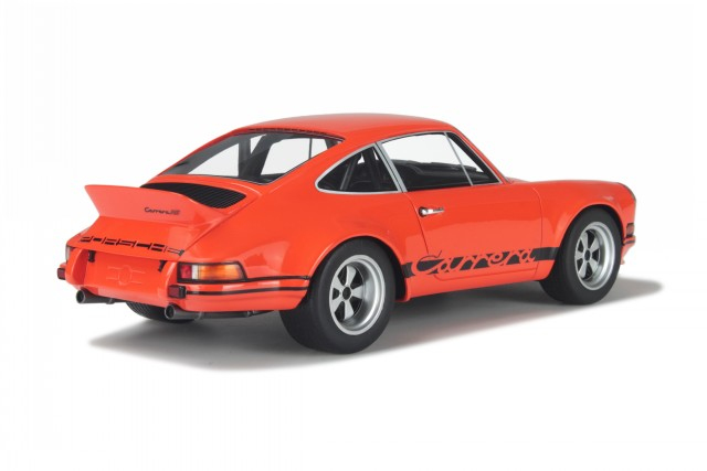 Details About Porsche 911 Carrera 28 Rsr Orange Modelcar Gt106 Gt Spirit 118