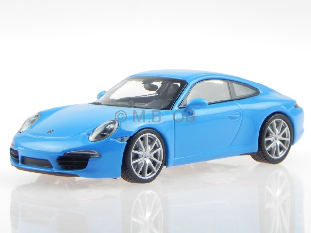 porsche 911 991 carrera s 2012 blau modellauto 60220. Black Bedroom Furniture Sets. Home Design Ideas
