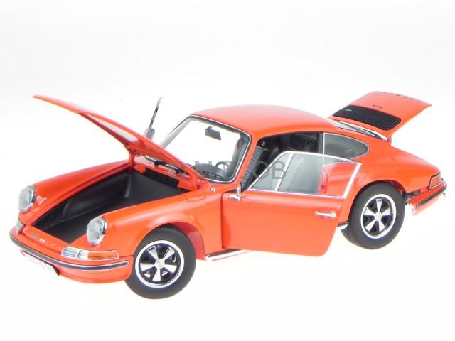 Porsche 911 S Coupe 1973 Orange Modellauto 353 Schuco 1 18  | Spielzeugwelt, fröhlicher Ozean