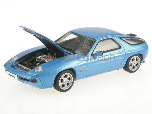 Porsche 57811 928 blu modellino 57811 Porsche AutoArt 1 43 04adaa