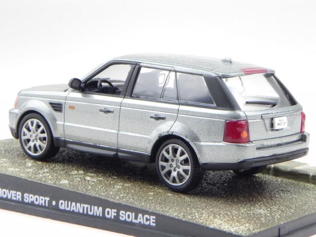 Rastar 1:43 Range Rover Sport silbern Modelauto