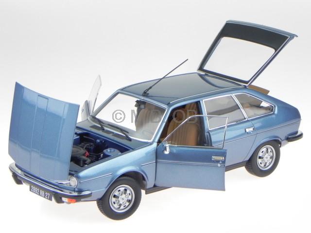 Renault 30 R30 TS bleu 1978 véhicule miniature 185270 Norev 1/18 | Paris  | En Ligne Outlet Store  | Stocker  | Les Consommateurs D'abord
