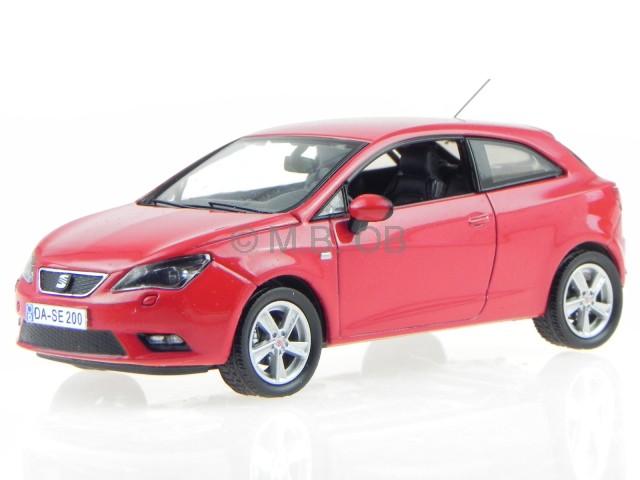 seat ibiza sc 3-door 2013 red diecast modelcar 1:43 4058124226932 | ebay