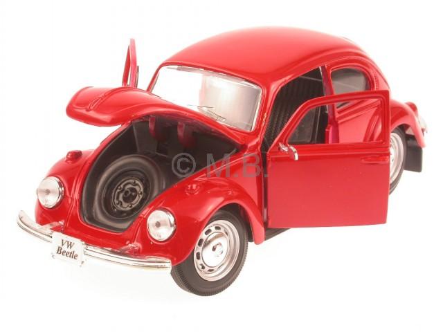 Maisto 1:24 VW Volkswagen Käfer red Beetle