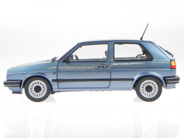 vw golf 2 cl 2 t rer blau metallic 1988 modellauto 188416. Black Bedroom Furniture Sets. Home Design Ideas