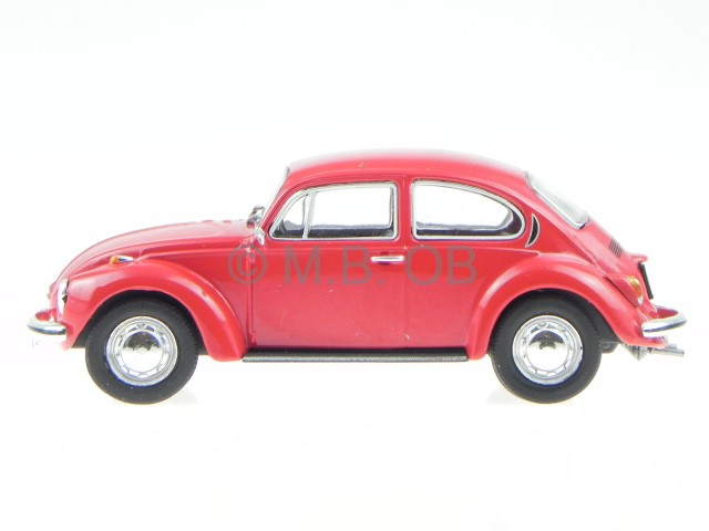 Vw Kafer 1302 Rot Modellauto In Vitrine 1 43 Nn
