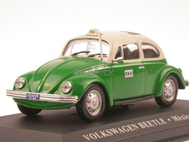 VW Käfer 1966 blau Modellauto Atlas 1:43